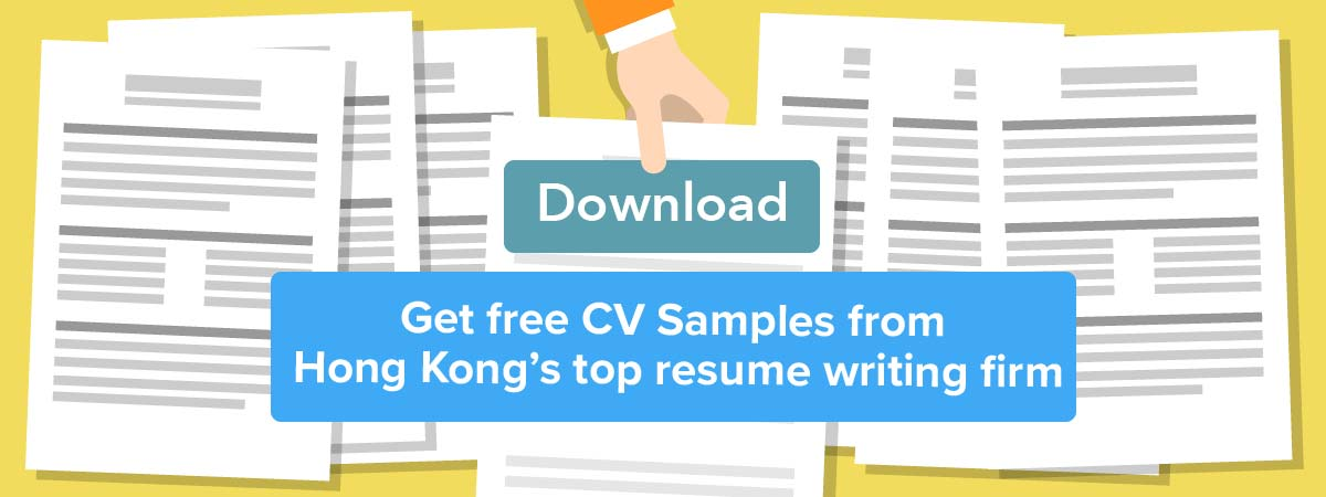 Free CV Sample Download - Download Hong Kong CV Samples Here